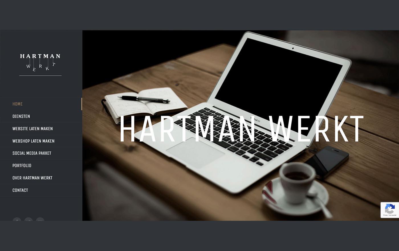 Hartman Werkt - Jogchumskunst website Hartman Werkt