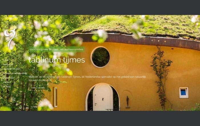 Hartman Werkt - website Tablinum Tijmes ecologisch bouwen