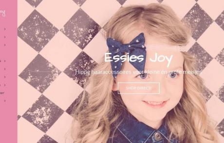 Hartman Werkt websites - nieuwe webshop Essies Joy