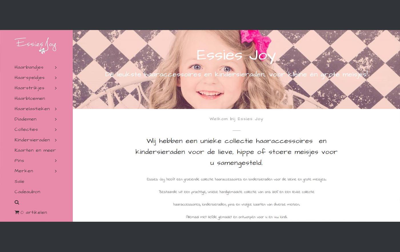 Hartman Werkt - website Essies Joy
