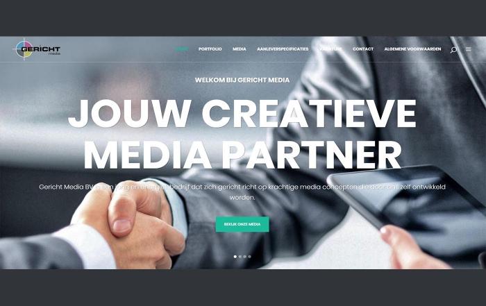 Hartman Werkt - website Gericht Media