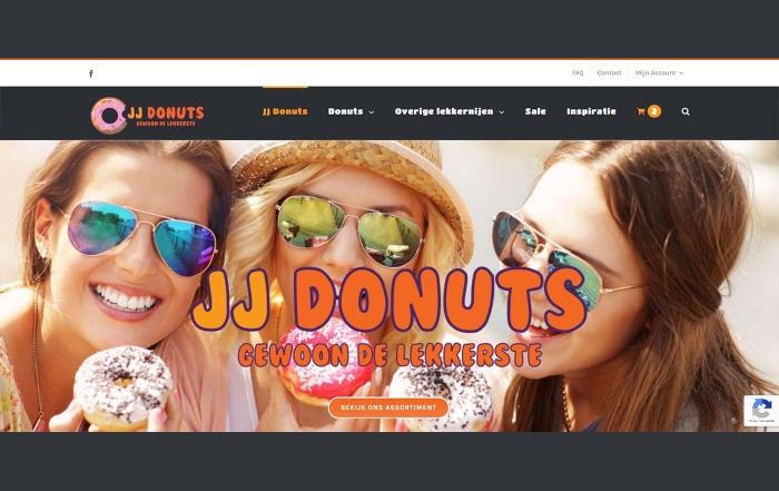Hartman Werkt - website JJ Donuts