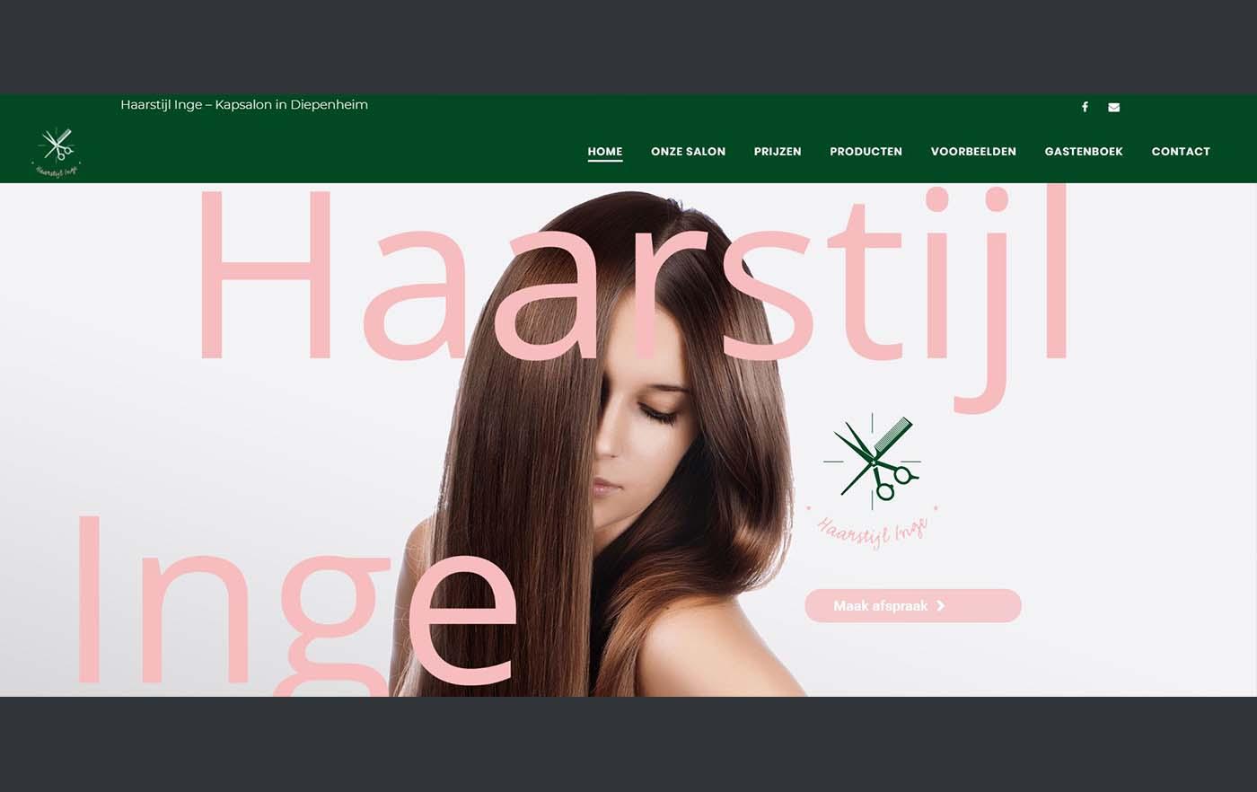 Hartman Werkt - website Haarstijl Inge